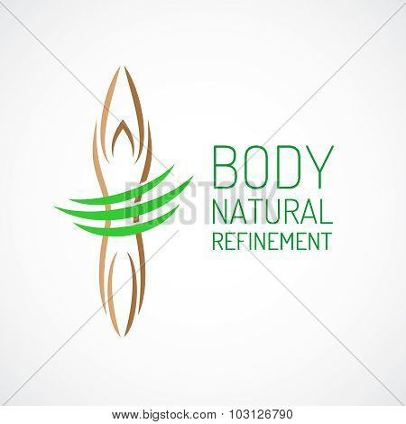 Body Care Logo Template.