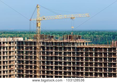 construction of high-rise building