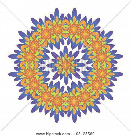 Ornamental Round Floral