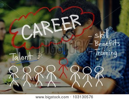 Careers Employment Job Recruitment Occupation Concept