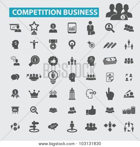 competitive business icons