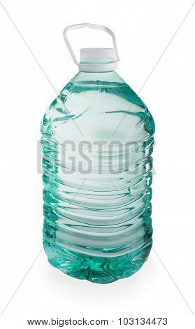 Five Liter Plastic Bottle Of Pure Water