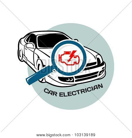 Car Electrician Logo Template
