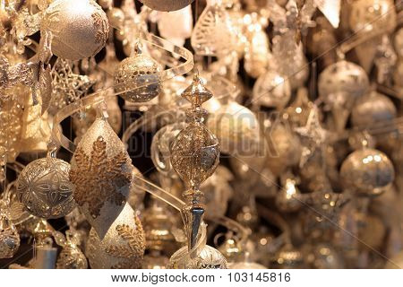 Glittery Christmas Decorations