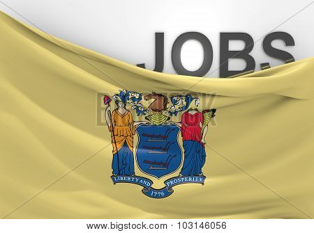 New Jersey jobs and employment opportunities concept