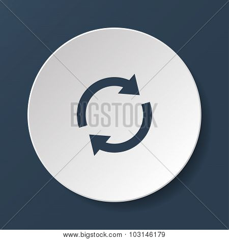 Update Icon. Vector Illustration