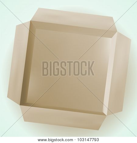 Isolated Box, Cardboard Box