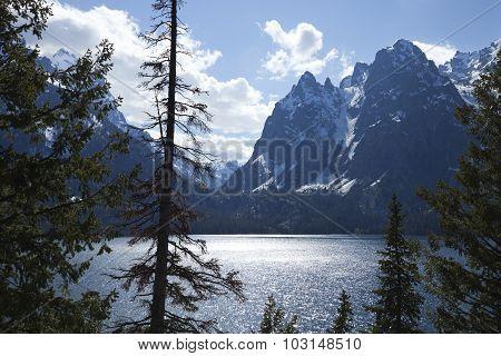 Jenny Lake In The Grand Teton National Park