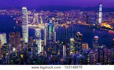 City Scape Buildings Urban Scene Tower Architecture Concept