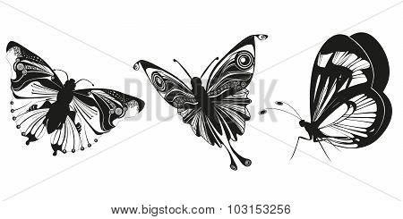 Tattoo Butterflies