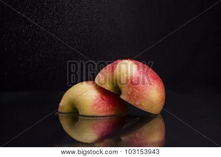 Apple In Spray