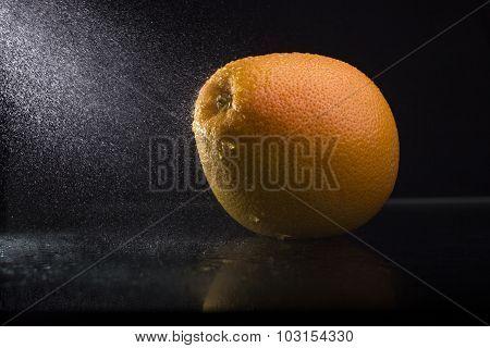 Orange In Spray