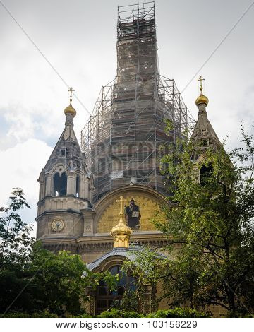 Alexander Nevsky Cathedral in Paris