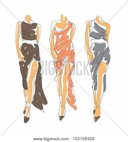 Fashion Sketch Poses