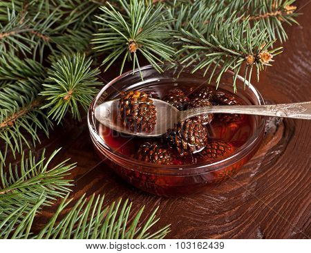 Confiture From Fir Cones