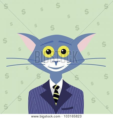 The Cat Of Wall Street