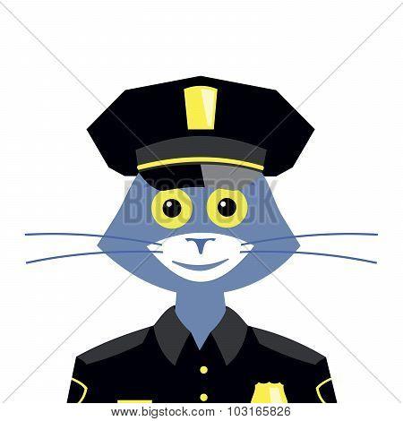 Cat Policeman