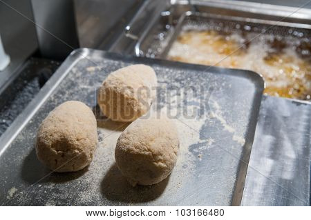 The Making Of Sicilian Arancini