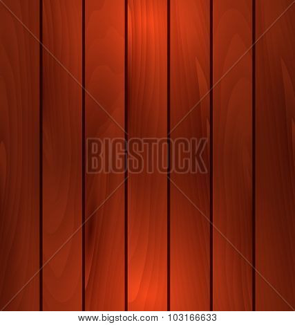 Dark wooden texture, plank background with light