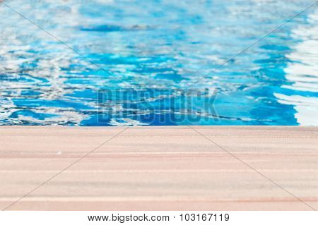 Pool And Wooden