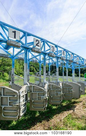 Start Gates For Horse Races