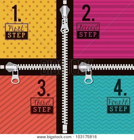 Zipper design
