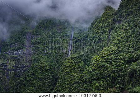 Cascade Bras D'anette, Ile De La Réunion