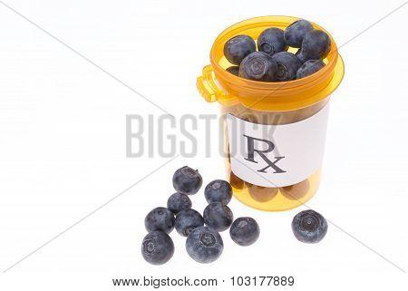Healthy Prescription Of Blueberries