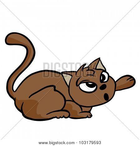 cat cartoon illustration