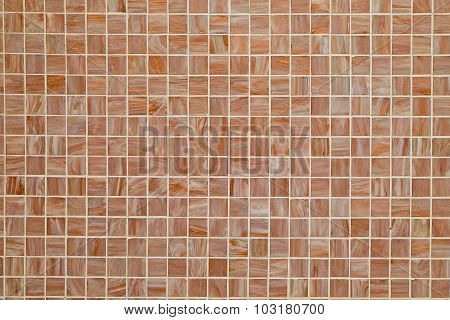 Brown square tiled background