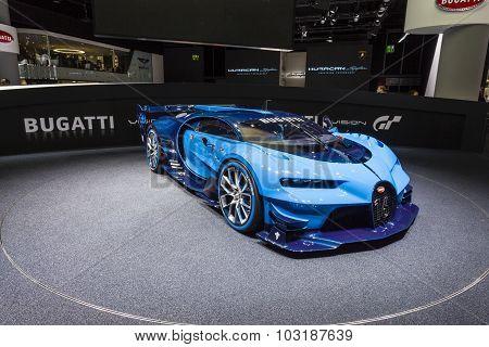 2015 Bugatti Vision Gran Turismo Concept