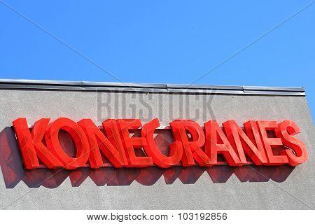 Konecranes Signage And Blue Sky