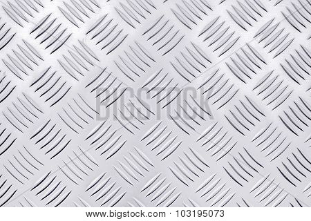 Diamond Steel Metal Plate Background