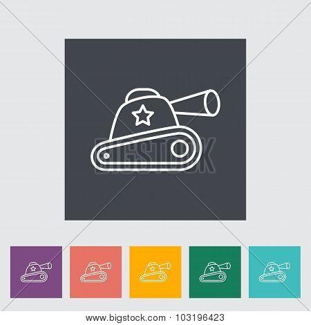 Tank toy