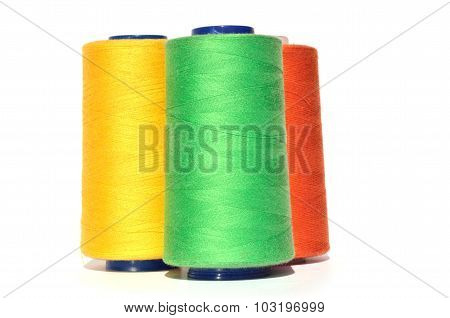 Green Yellow And Orange Thread