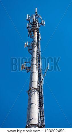 High-tech Electronic Communications Tower