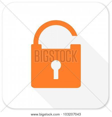 padlock flat icon
