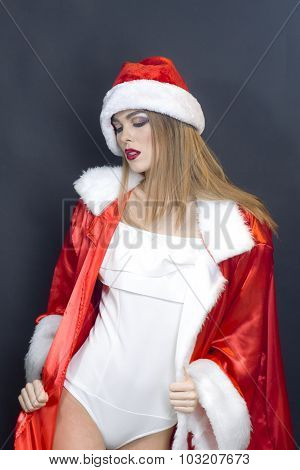 New Year Woman