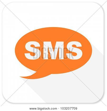 sms flat icon