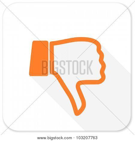 dislike flat icon