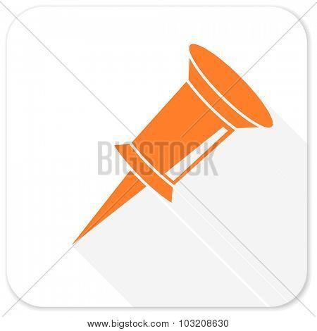pin flat icon