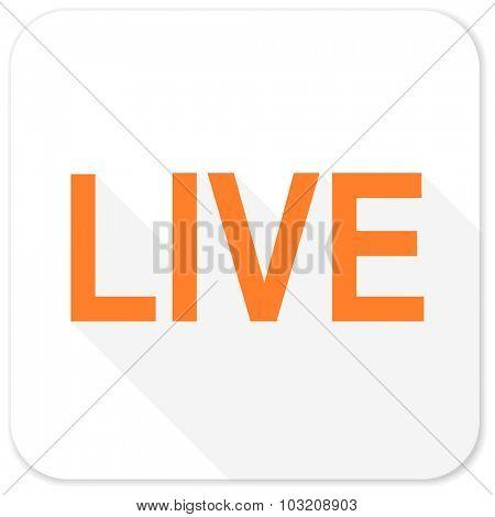 live flat icon
