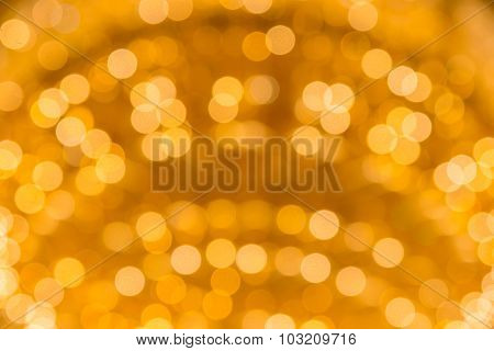 Abstract Circular Bokeh For Background