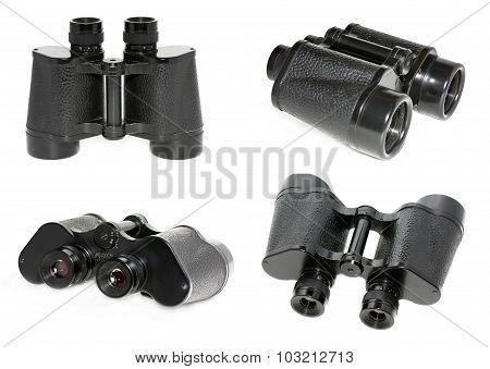 Old Black Binoculars