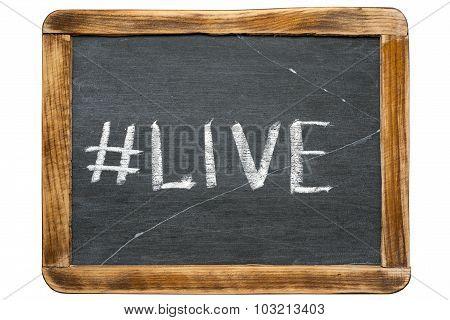 Live Hashtag