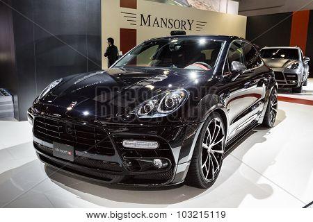 2015 Mansory Porsche Cayenne