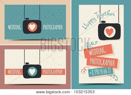 Creative business card photographer