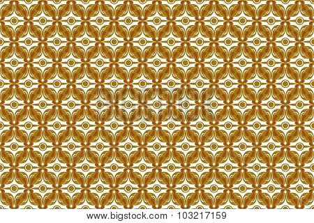 Vintage Abstract Background In Seamless Style From Diamond Shaped Quadrangle