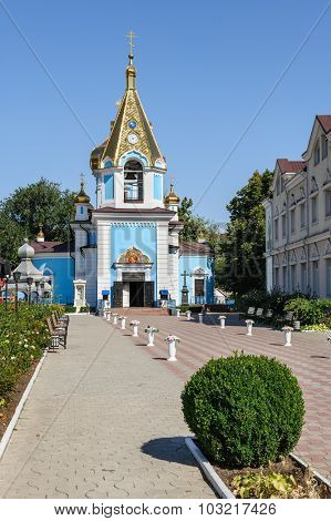 Ciuflea Monastery, Chisinau, Republic of Moldova. Was found by two brothers in 1858, Aromanian merchants who emigrated from Macedonia to Bessarabia in 1821.