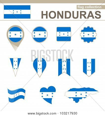 Honduras Flag Collection